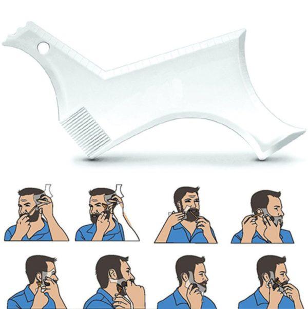 Обликувач за брада - проѕирен