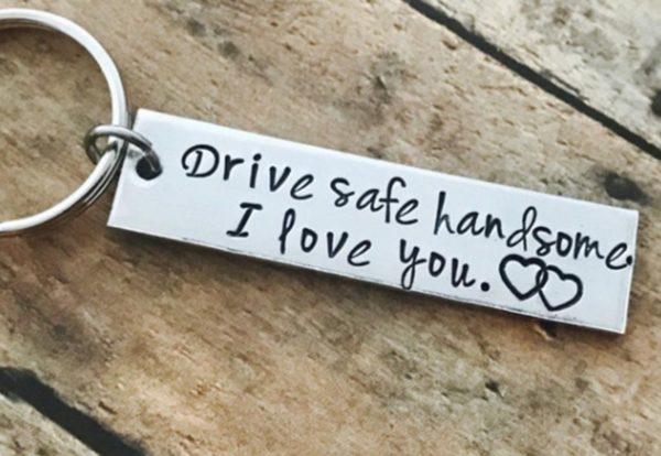 "Привезок ""Drive safe handsome. I love you"""